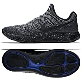 NIKE Lunarepic Low Flyknit 2 Mens Running Trainers 863779 Sneakers Shoes (UK 8 US 9 EU 42.5, Black White Hot Punch 006)