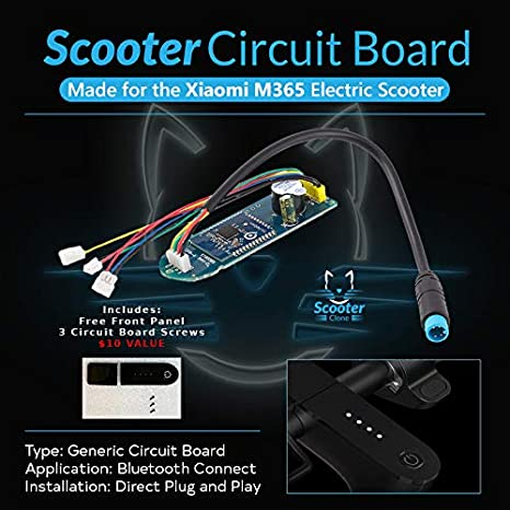 Amazon.com: Scooter - Placa de circuito de clon + cubierta ...