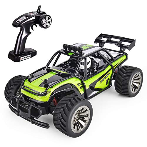 GotechoD RC Cars for Kids Remote Control Car Toys Remote Control Truck RC Vehicle Crawler Off Road Radio Controlled Car Toys for Age 6 7 8 9 10 11 16 - Truck Control Radio