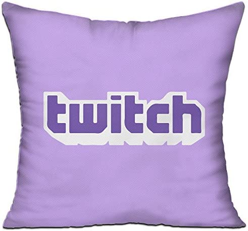 Kongpao Twitch Logo Pillow Case & Insert Throw Pillow by Kongpao: Amazon.es: Hogar
