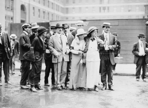 early 1900s photo Berkman, Becky Edelson, Louise Berger Vintage Black & White c1
