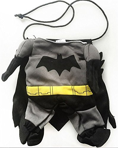 Vedem Cat Dog Bat Costume Outfit Jumpsuit for Halloween Christmas (3) (Dog Batman)
