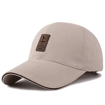 NVZHUJIAO Gorra de Beisbol,Gorra de béisbol Mens Golf Hat Tapones Tapones de algodón Hombres