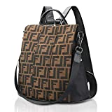 Olyphy Fashion Leather Backpack Casual Purse for Women,Designer PU Shoulder Bag Handbags Travel Purse. (Style 6)