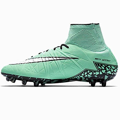 Nike Herren Hypervenom Phantom II FG Fußballschuhe Mehrfarbig (Grn Glw/Mtllc Slvr-hypr Orng-b)