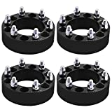 Chevy Wheel Spacers, YITAMOTOR 4pcs 6 Lug Wheel Spacers 6x5.5/ 6x139.7 2 Inch Wheel Spacers For Chevy Silverado 1500 Chevrolet Tahoe Avalanche Blazer GMC Cadillac (14x1.5 Studs&108mm Bore)