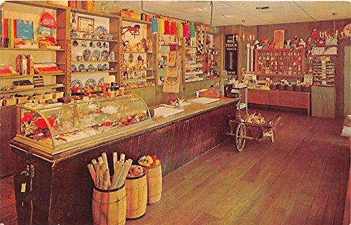 Shaker Village Gift Shop at Golden Lamb Dayton, Ohio, OH, USA Postcard
