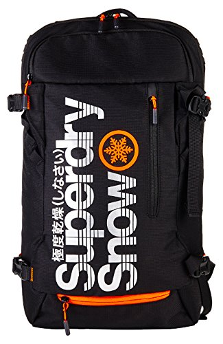 Superdry - Ultimate Snow Service, Mochilas Hombre, Nero (Black), 30.0x45