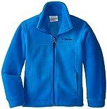 Columbia Little Boys' Steens MT II Fleece Jacket, Hyper Blue, XX-Small