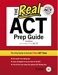 Worksheets Act Prep Worksheets 1 296 act practice questions 3rd edition college test the real cd official prep guide