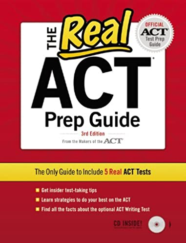 the real act cd 3rd edition official act prep guide act rh amazon com real act prep guide 3rd edition pdf download real act prep guide pdf