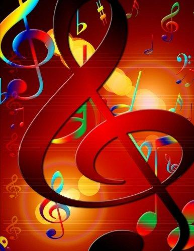 Ukulele Tab Sheet Music: A Blank Sheet Music Notebook to Write Your Own Ukulele Songs, Blank Ukulele Chord Sheet, Ukulele Tab Book. Colorful ()
