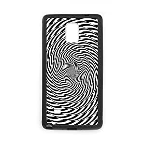 New Arrival Samsung Galaxy Note 4 Case, Illusion Psychedelic TPU Case Cover for Samsung Galaxy Note 4