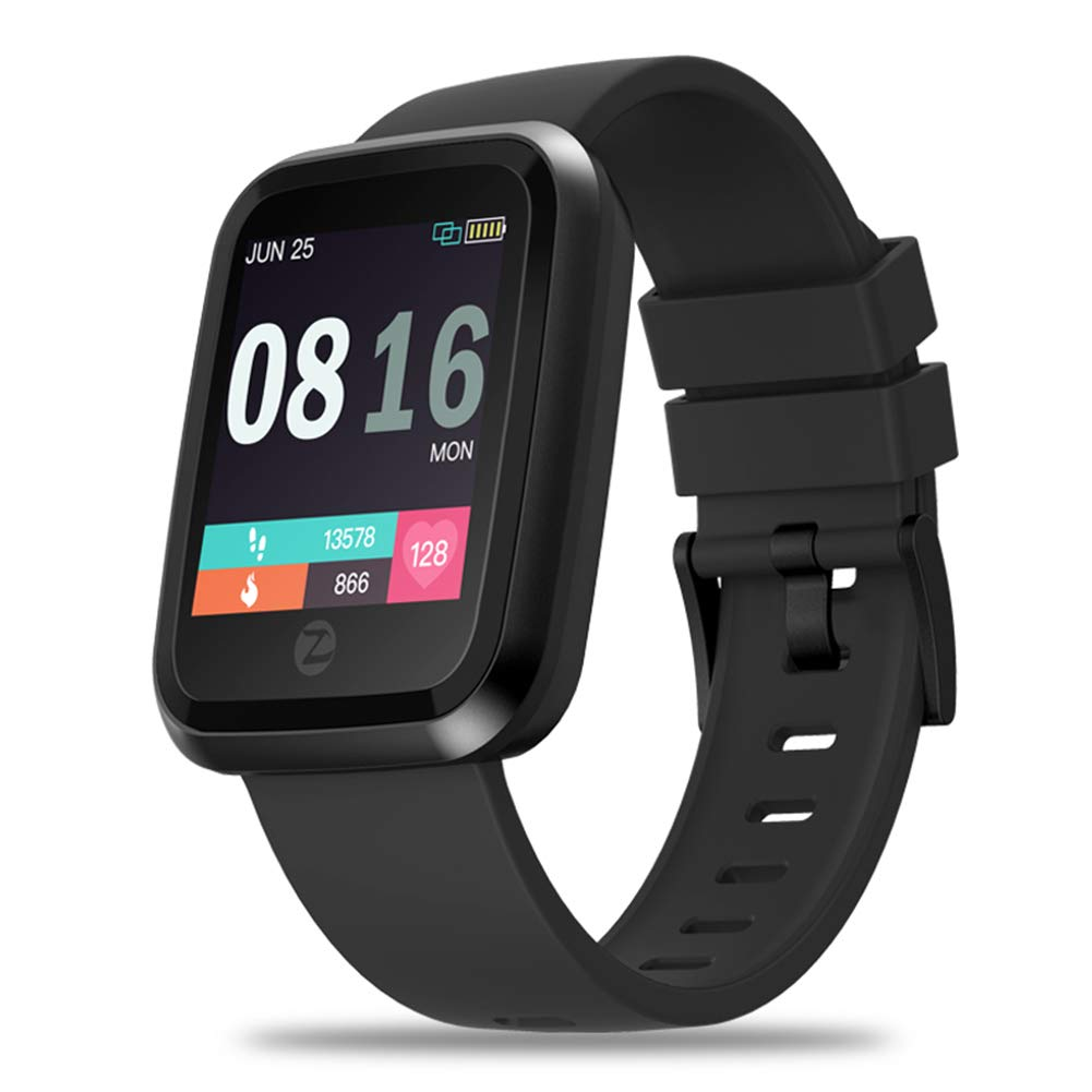 Amazon.com: MeterMall Zeblaze Crystal 2 Smartwatch IP67 ...
