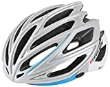 Louis Garneau - HG Women's Sharp Cycling Helmet, Silver/Blue, Small/Medium