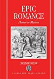 img - for Epic Romance: Homer to Milton by Colin Burrow (1993-09-01) book / textbook / text book