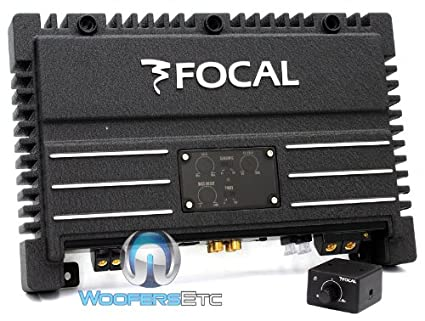 SOLID 1 - Focal Monoblock / 1-Channel 600 Watts RMS Power Amplifier