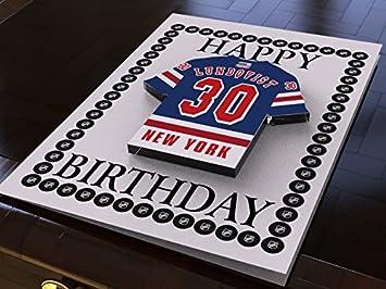 MyShirt123 NHL NATIONAL HOCKEY LEAGUE BIRTHDAY CARD