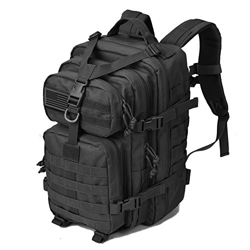 ce1a27ced6ac REEBOW GEAR Military Tactical Backpack 3 Day Assault Pack Army Molle Bug  Bag Backpacks Rucksack 35L Black