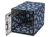 Jax & Bones Cotton Blend Crate Cover Ups Bed Cove Navy-X-Large