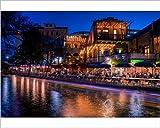Photographic Print of San Antonio Riverwalk, San Antonio, Texas, United States of America, North