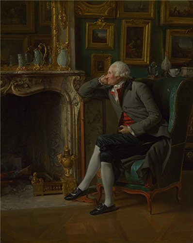 Oil Painting 'Henri Pierre Danloux The Baron De Besenval In His Salon De Compagnie' 16 x 20 inch / 41 x 51 cm , on High Definition HD canvas prints is for Gifts And Bed Room, Game Room And Liv decor
