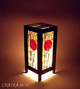 Oriental decorations vintage lamp base japanese lampshade oriental decorations vintage lamp base japanese lampshade chinese light shade handmade table lamps asian lighting bedside lamp decor bedroom lamps aloadofball Image collections