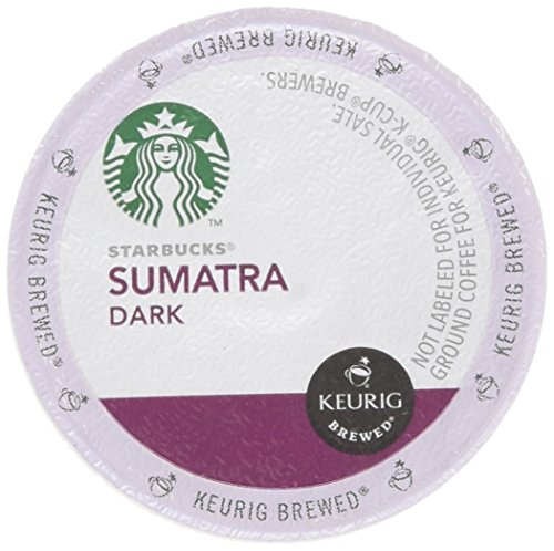 Keurig Starbucks Sumatra Wicked Roast, 48 Count