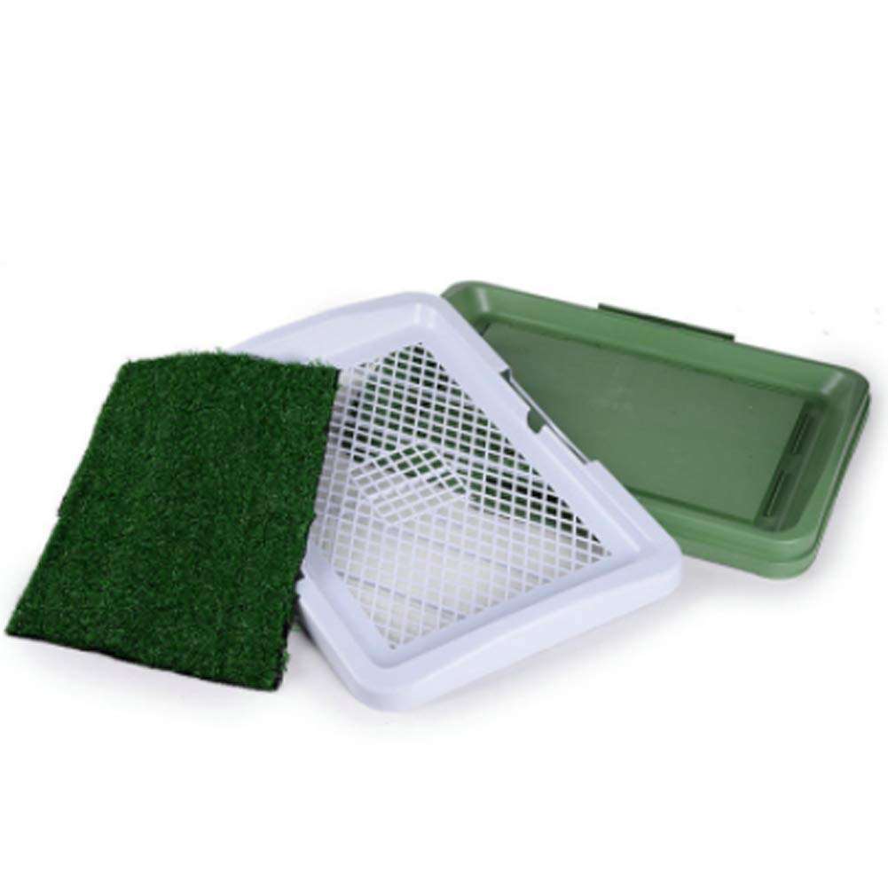 Puppy Training Pad Indoor Potty Trainer Grass Pee Pad with Artificial Grass for Pets
