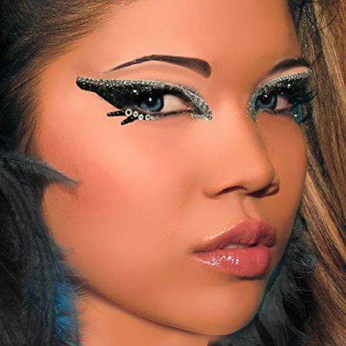 Villian Exotic Eyes Rhinestone Eye Paint Professional Make Up Artist Look]()