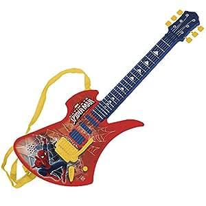 marvel reig ultimate spider man 6 string electric guitar toys games. Black Bedroom Furniture Sets. Home Design Ideas