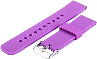 Zhuhaimei,Bande de Montre pour Divers modèles(Color:Violet) Bande de Montre pour Divers modèles(Color:Violet)