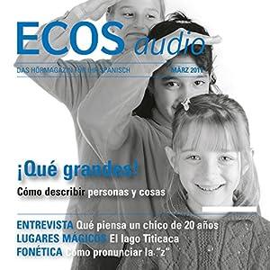 ECOS audio - Qué grandes! 3/2011 Hörbuch