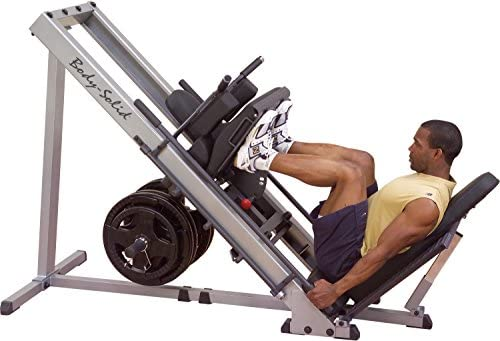Body-Solid GLPH1100 Leg Press Hack Squat Machine