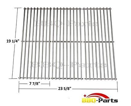 bbq-parts scs531 (3 unidades) alambre de acero inoxidable ...