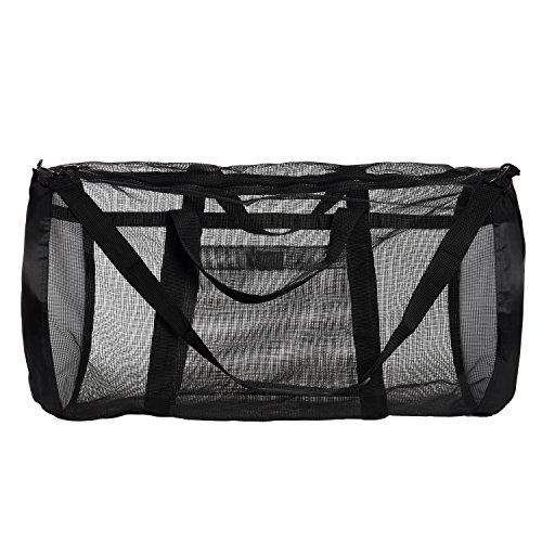 Ivation Dive Bag Heavy Duty Mesh Duffel Bag Features