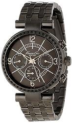 Kenneth Cole New York Women S Kc4903 Dress Sport Triple Gun Chronograph Bracelet Watch
