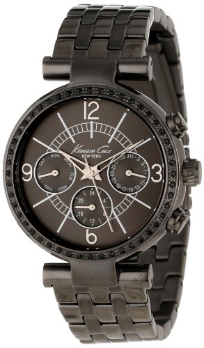 Kenneth Cole New York Women's KC4903 Dress Sport Triple Gun Chronograph Bracelet Watch
