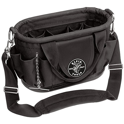 Tool Tote with 17 Pockets and Shoulder Strap Klein Tools 58890
