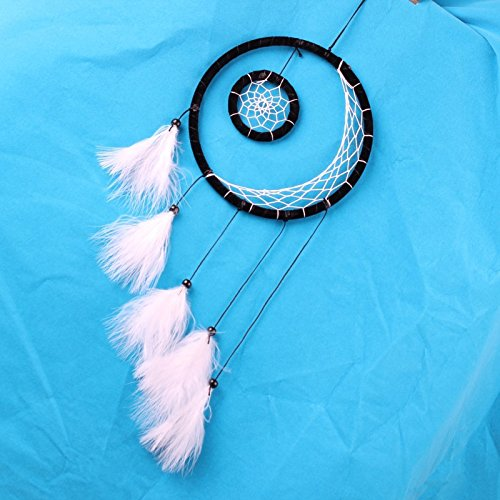 ream Catcher Feather Ornaments Wind Chimes Home Decor - Native American Design ()
