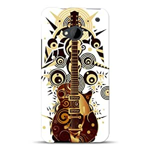 Diabloskinz D0095-0004-0040 Disco guitar - Carcasa impresa para HTC One