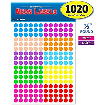 Pack of 1020 1/2