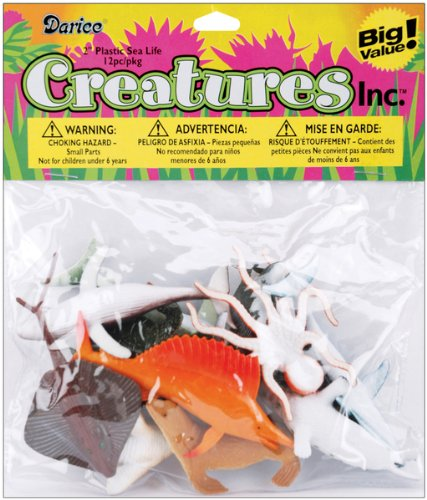 WMU 659614 Creatures Inc.Sea Life - 12-Package