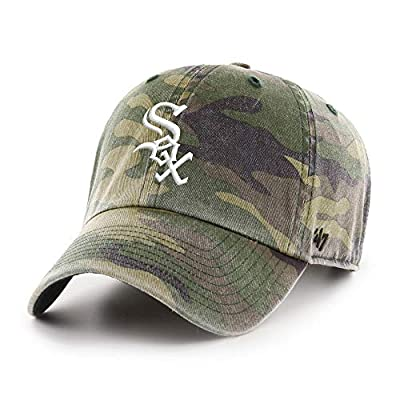 '47 Chicago White Sox Camo Field Adjustable Clean Up Dad Slouch Cap