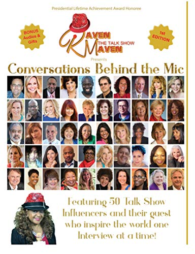 Conversations Behind The Mic by [Glover, Raven Blair]