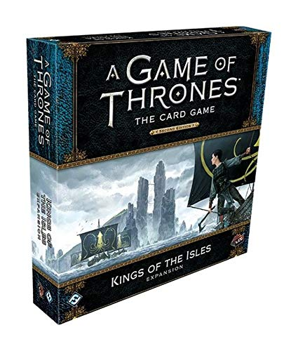 A Game of Thrones LCG: Kings of The Isles Deluxe Expansion (Game Of Thrones Card Game Greyjoy Deck)
