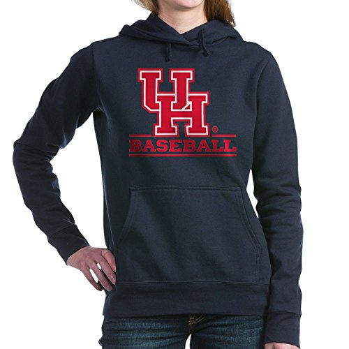 CafePress Houston Cougar Baseball Pullover Hoodie, Classic & Comfortable Hooded Sweatshirt Navy ()