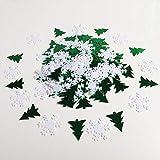 Christmas Table Confetti Snowflake Sequin Christmas Tree Supplies Xmas Party Gift Ornaments Decor