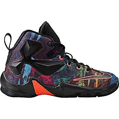 5d087ac85322f ... where to buy nike lebron 13 the akronite philosophy basketball shoes  808710 008 black hyper orange