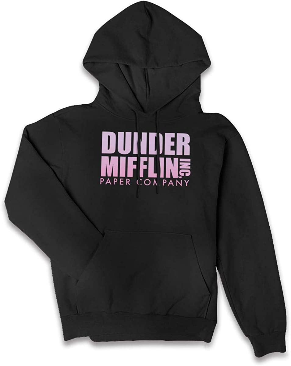 Dunder-Mifflin-Logo Fo Women Fall Unisex Pullover Sweatshirt Sweater Kangaroo Pocket